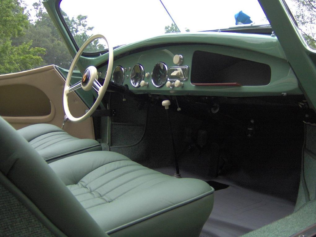 Green Leather Seats