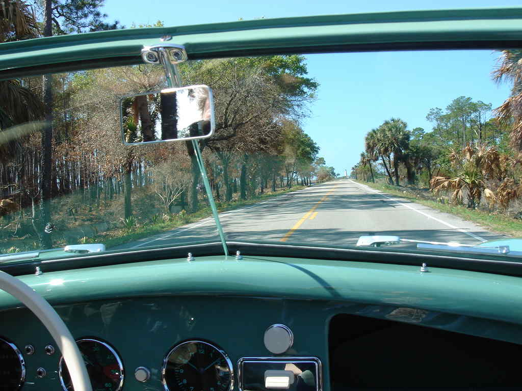 View Through the Windshield
