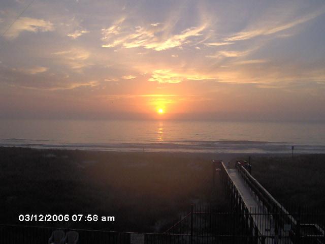 Sunset Walkway to the Beach