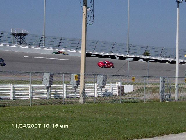 Car on Racetrack