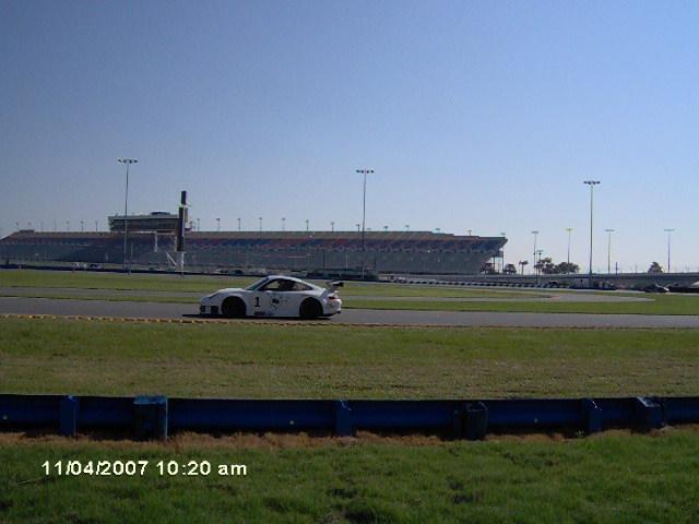 Porsche on the Race Track