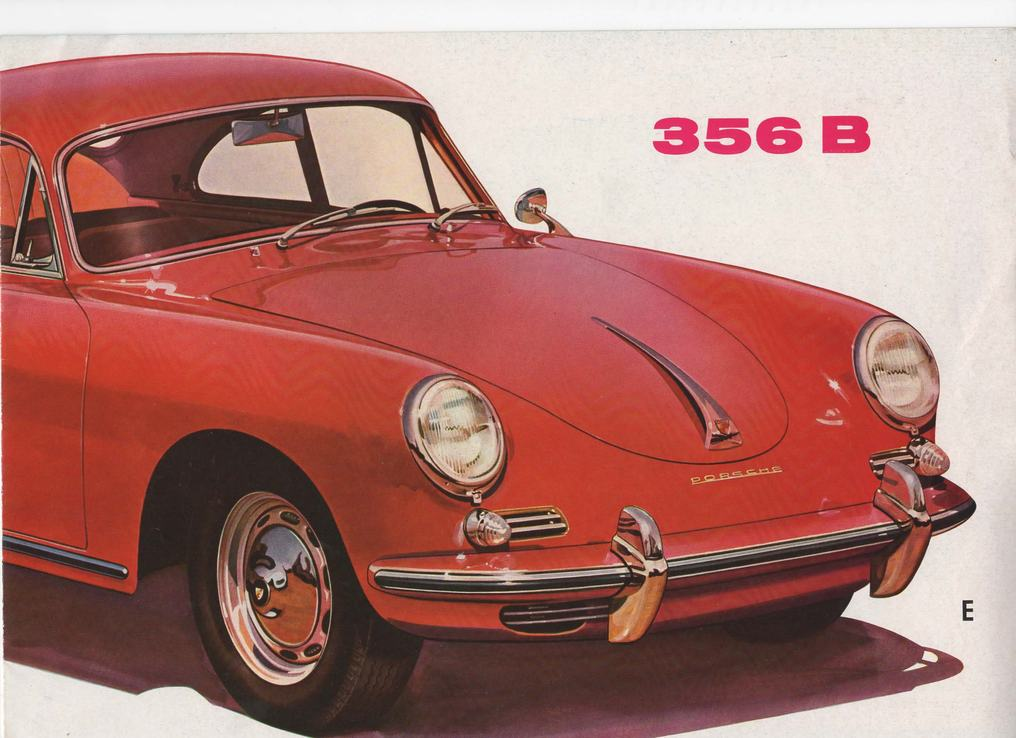 Porsche 356 B 1600 Sales Brochure - page 1