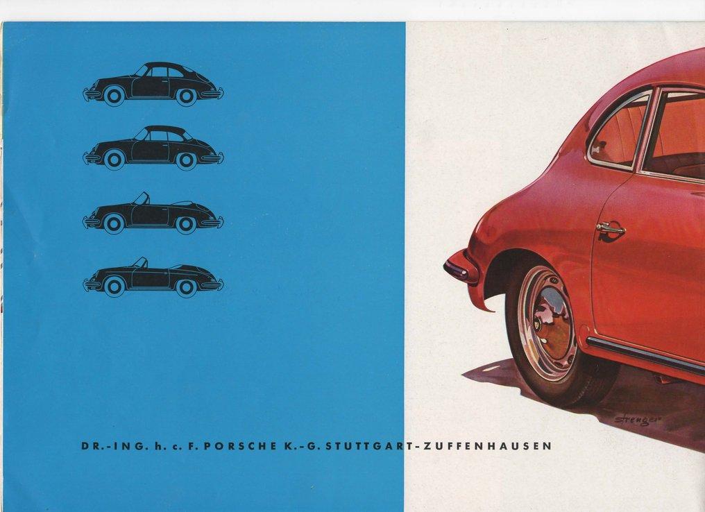 Porsche 356 B 1600 Sales Brochure - back page