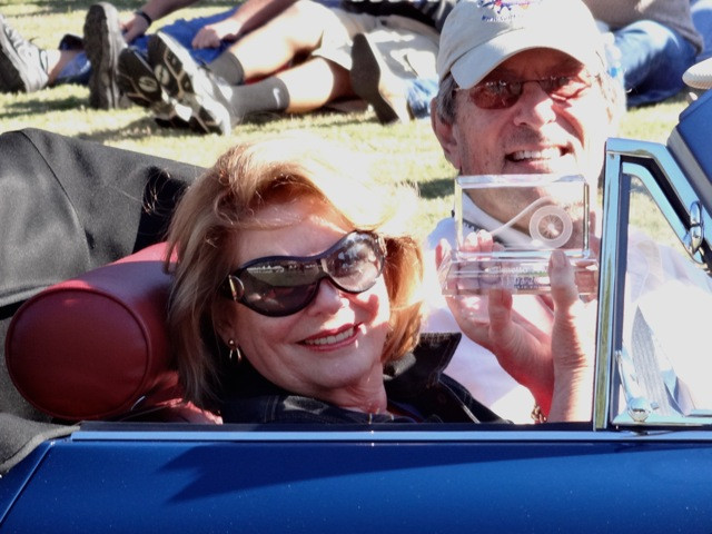 David and Mary Beth with award