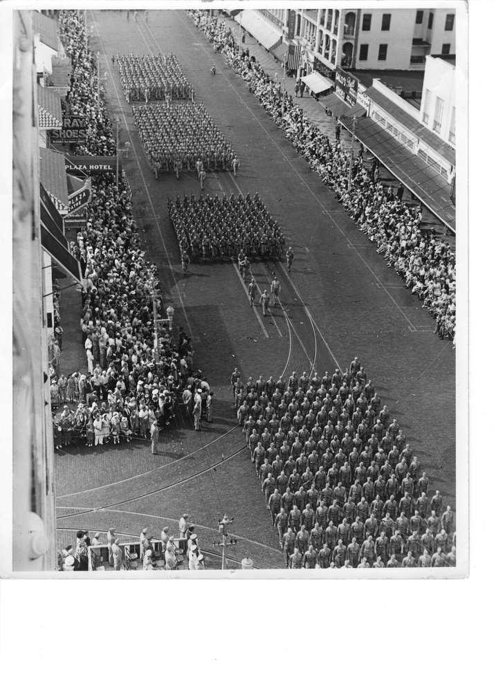 WWII Troops Saint Petersburg, Florida