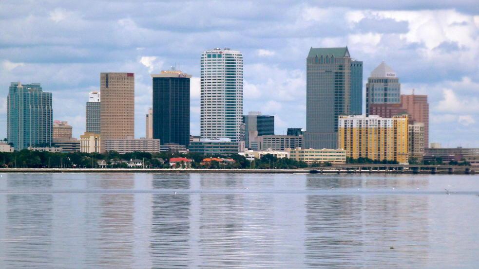 Saint Petersburg, Florida Skyline