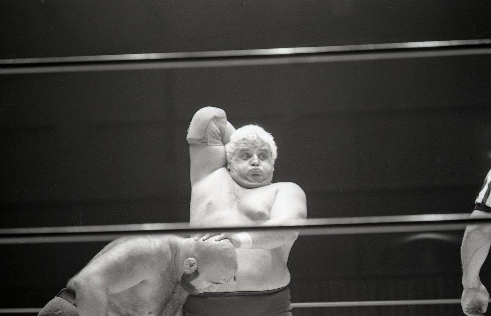 WWE Wrestler Dusty Rhodes in 1974