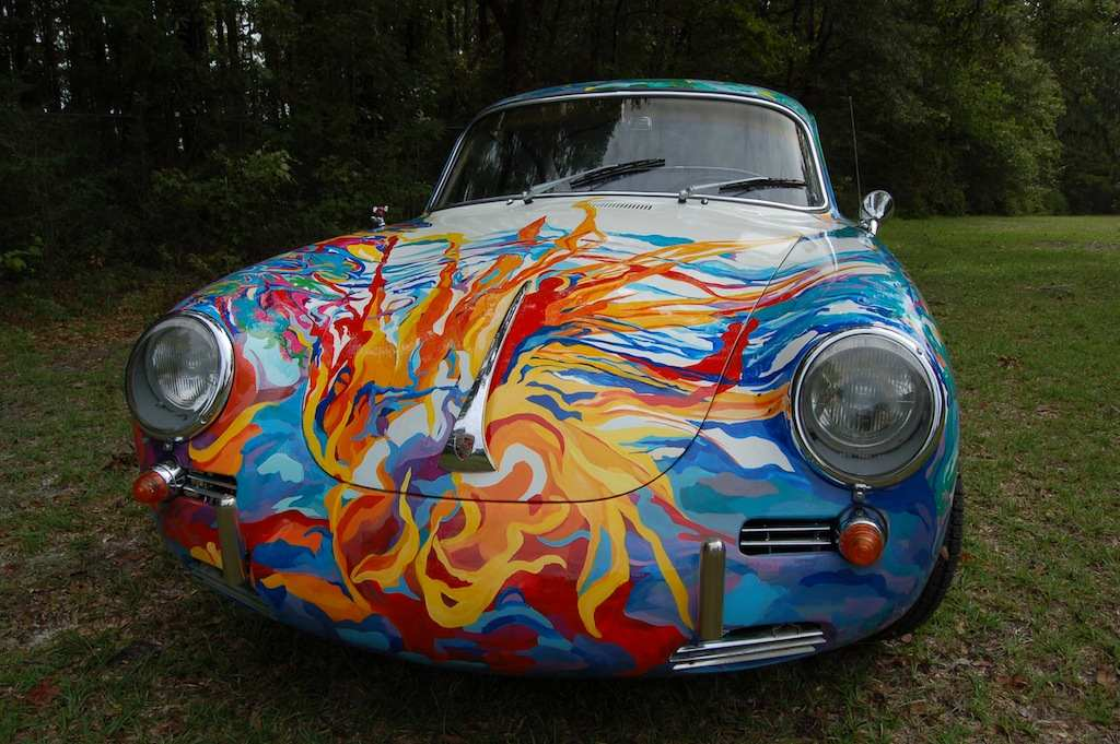 Hatha Petey, Porsche Art Car