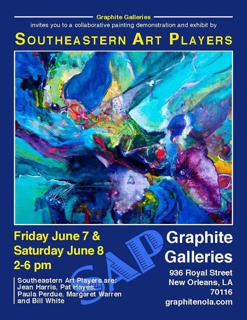Graphite Gallery Invitation