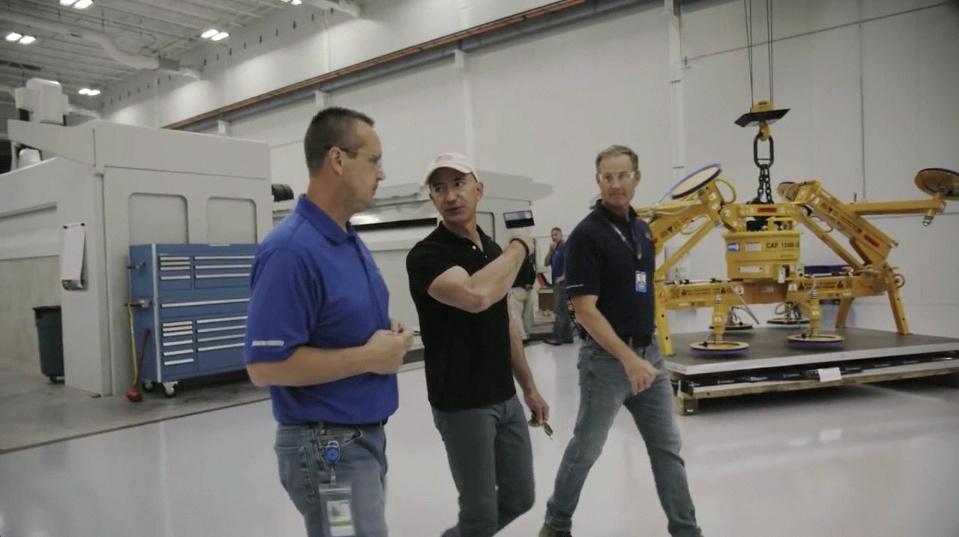 Jeff Bezos, Elon Musk, Sheyene Gerardi Network InSpace ICON Series premiere every Wednesday 9 pm