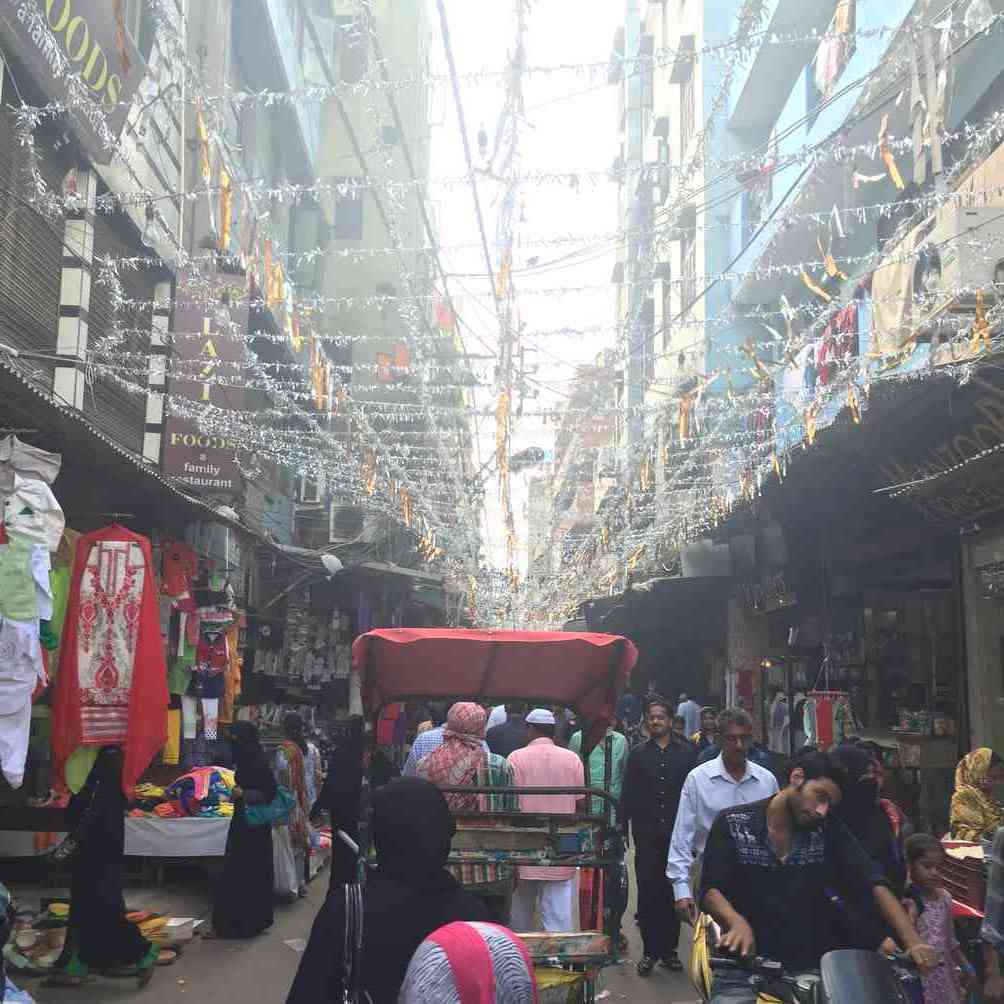 Chawki Bazaar Old Delhi