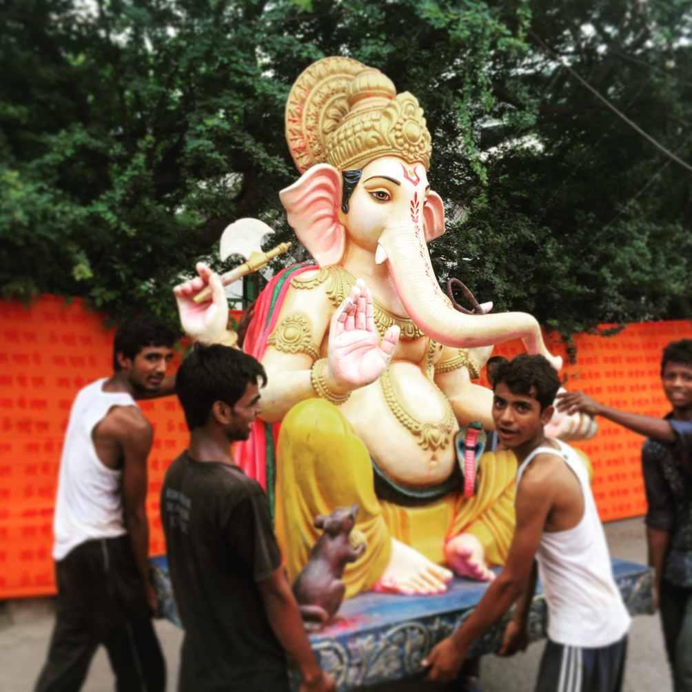 Ganesha Festival Statue