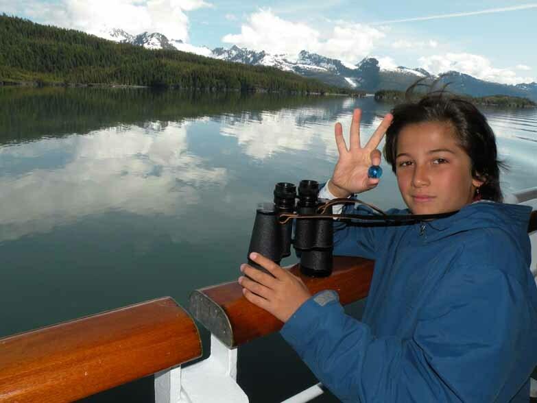 The Blue Marbles Project: Kiran, Lower Glacier Bay, Alaska