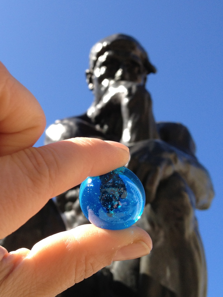 The Blue Marbles Project: The Thinker (2012)