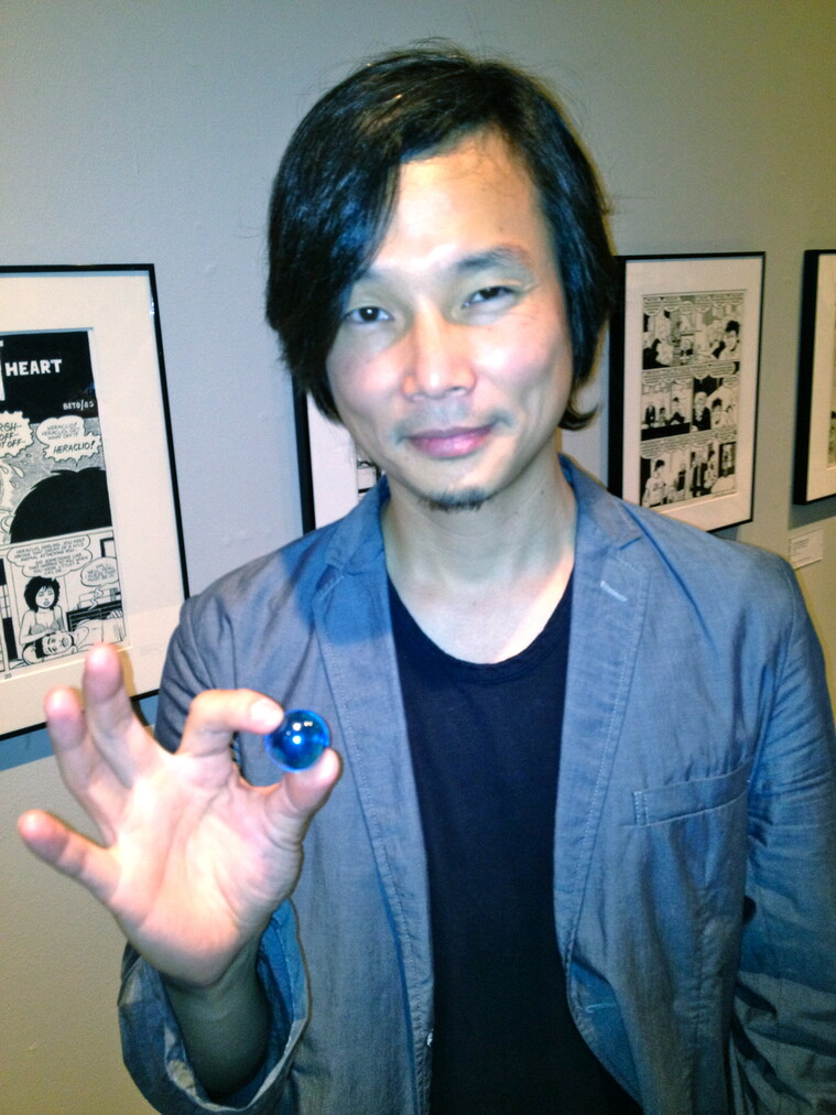 The Blue Marbles Project: Dice Tsutsumi (2012)