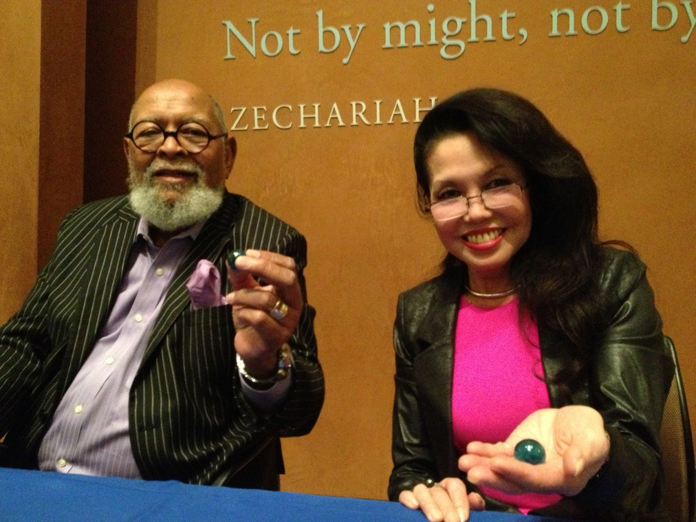 The Blue Marbles Project: Cecil Williams and Janice Mirikatani (2013)
