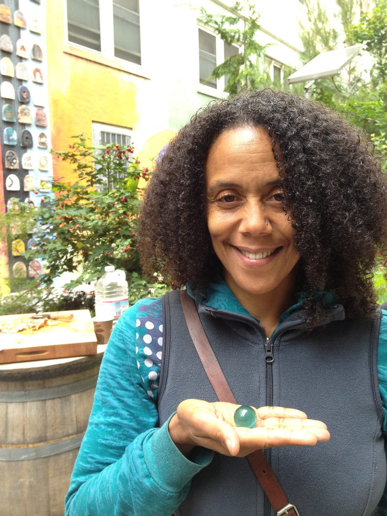 The Blue Marbles Project: Amara Tabor-Smith (2013)