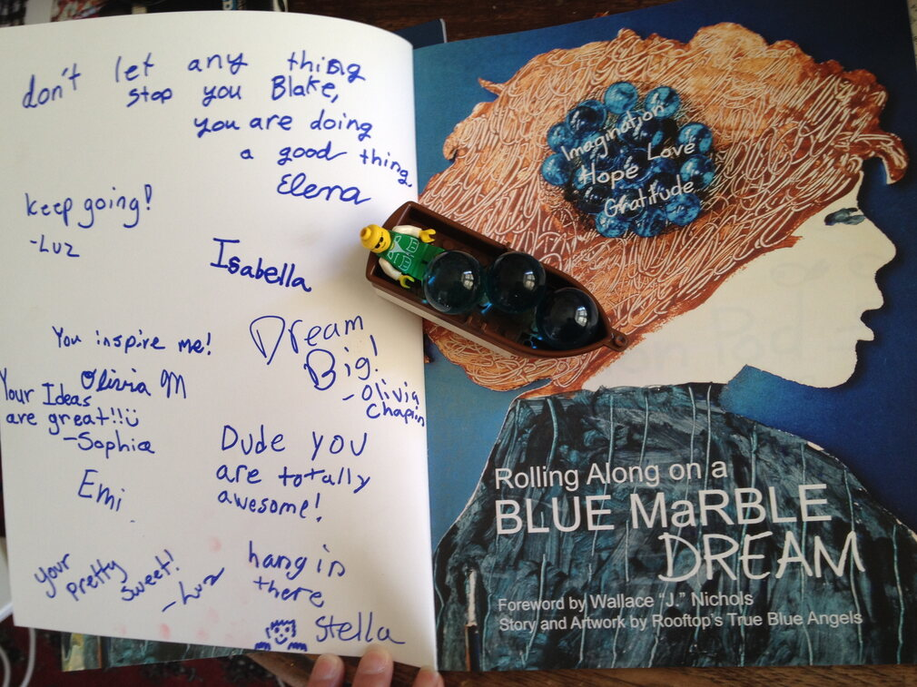 The Blue Marbles Project: The Ansari Family (2014)