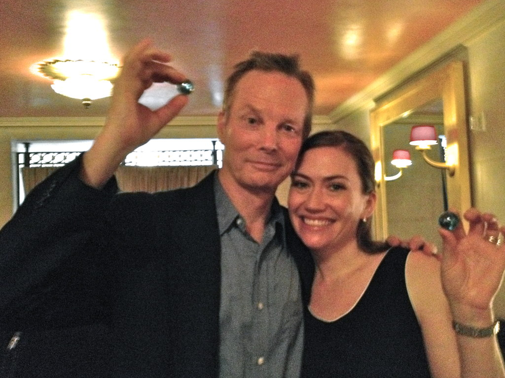Blue Marbles for actor Bill Irwin and soprano Heidi Stober