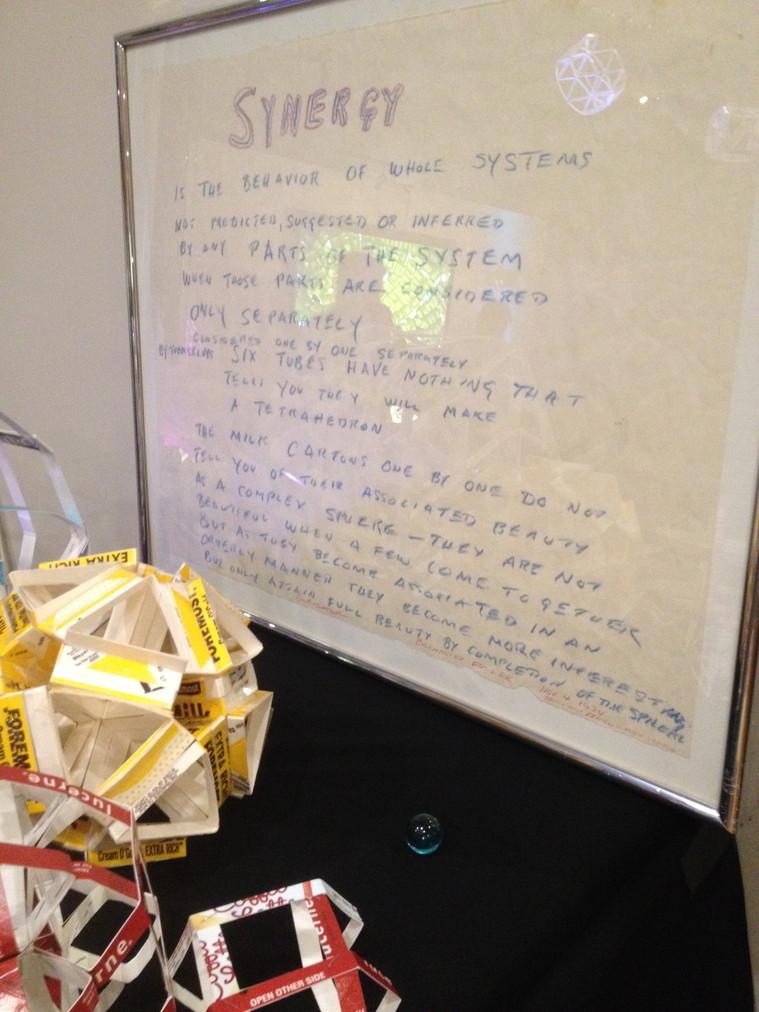 Synergy defined by Buckminster Fuller