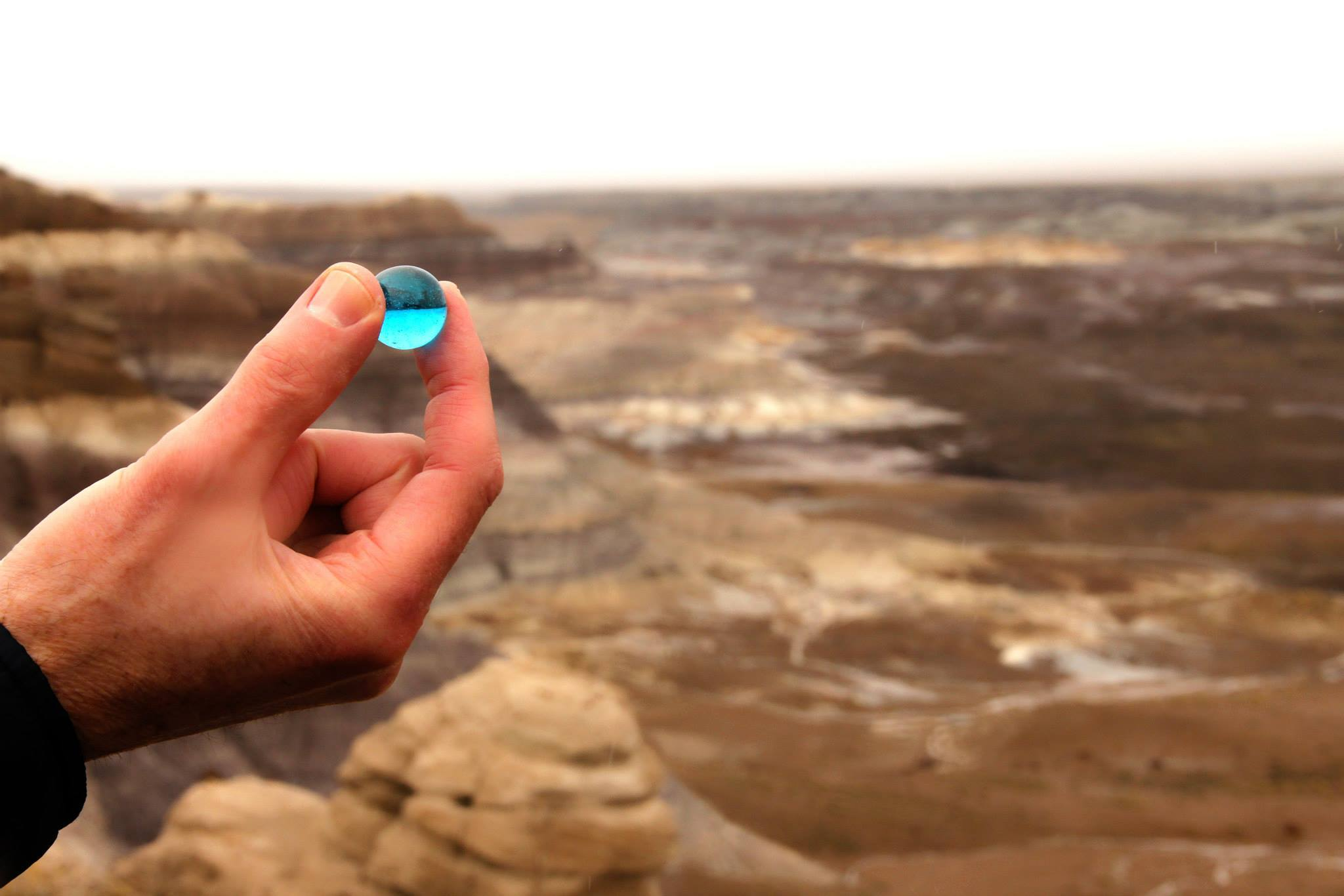 The Blue Game by the Blue Mesa
