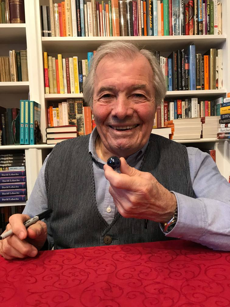 The Blue Marbles Project: Jacques Pepin