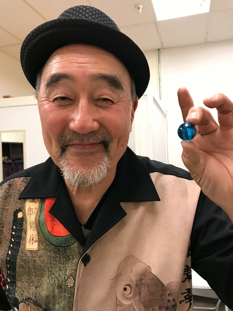 The Blue Marbles Project: Akira Tana (2019)