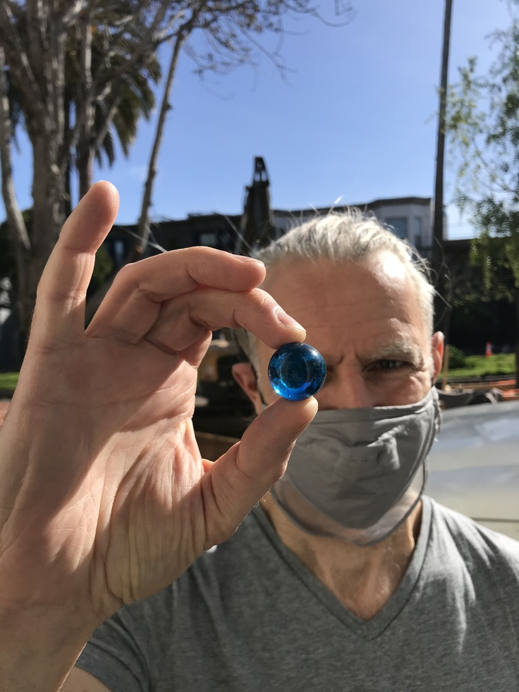 The Blue Marbles Project: Greg Niemeyer (2021)