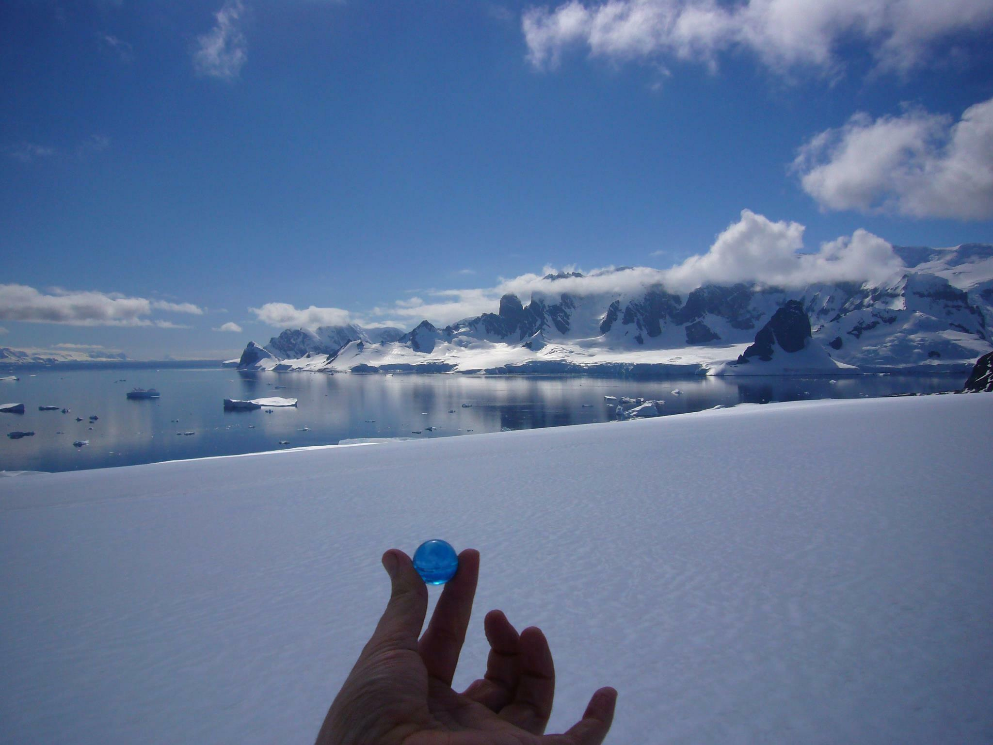 The Blue Marbles Project: Danco Island, Antarctica (2013)