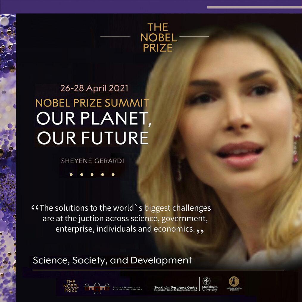 Sheyene Gerardi Nobel Prize Summit