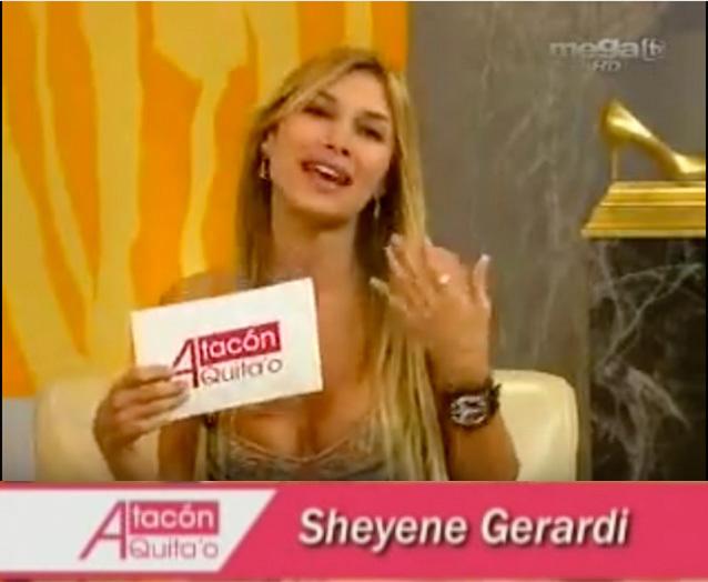 Sheyene Gerardi - A Tacon quitao (MegaTV)
