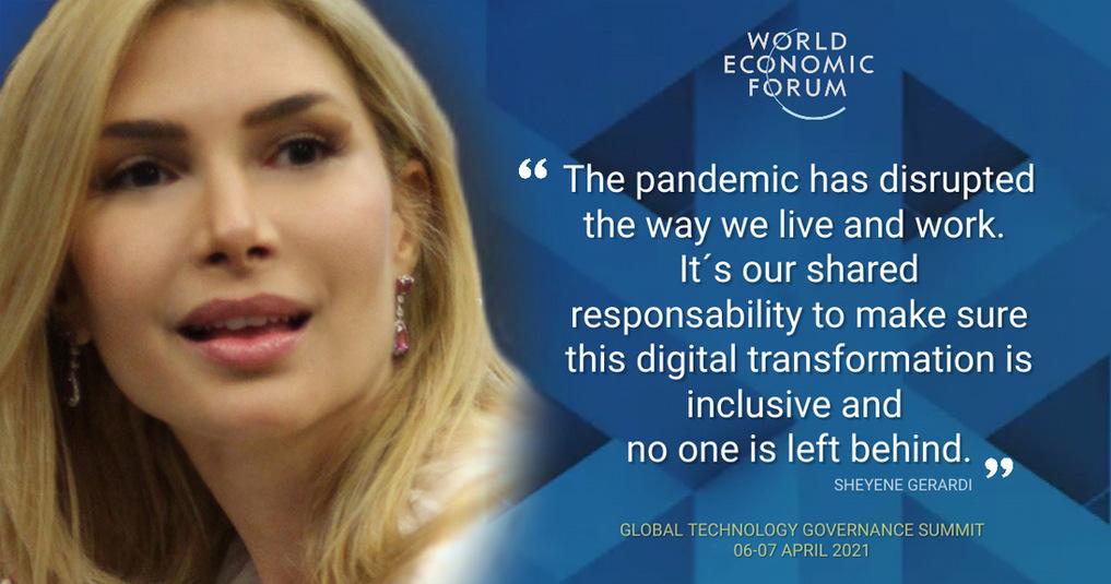 Sheyene Gerardi World Economic Forum 2021