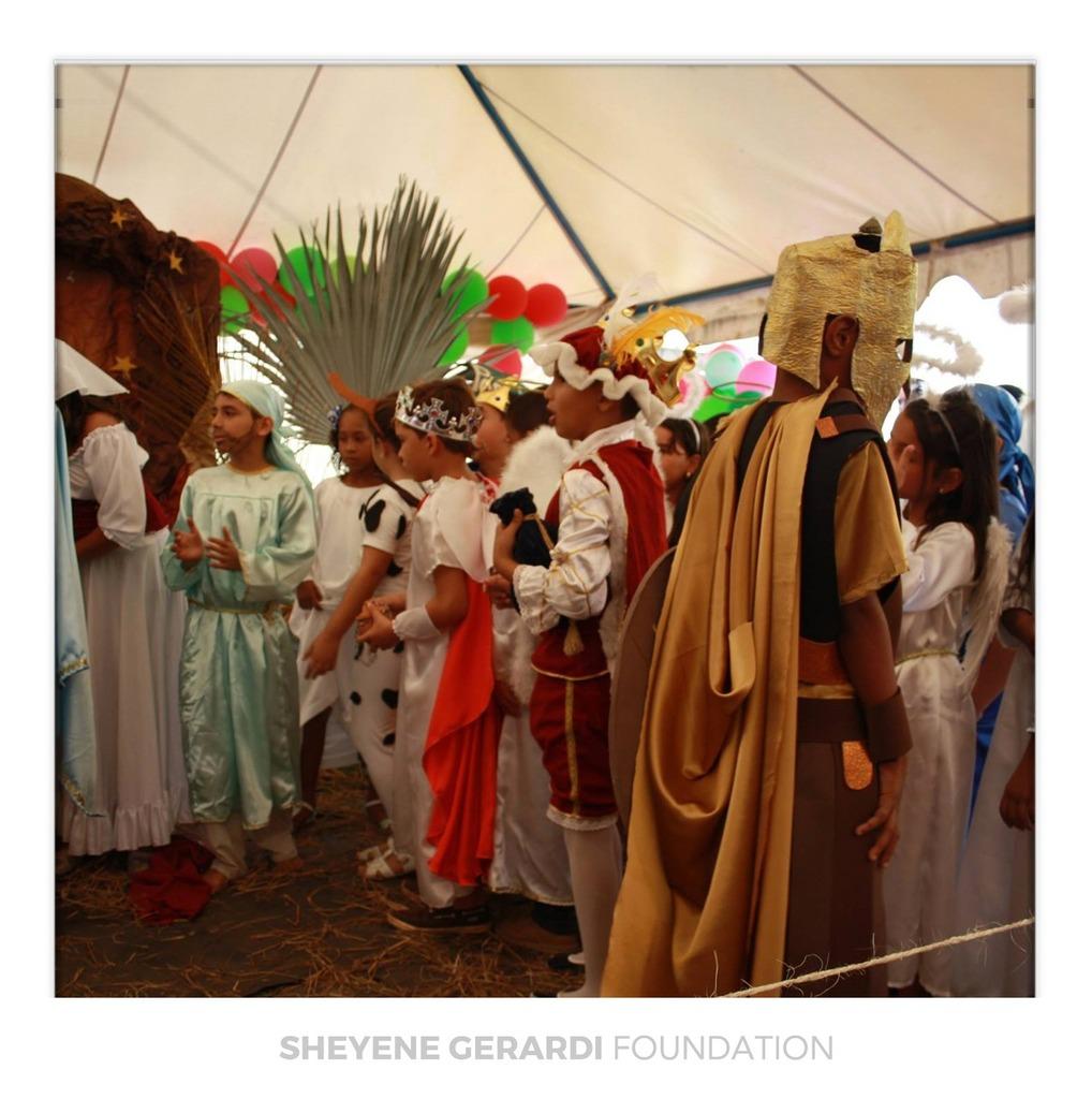 Sheyene Gerardi Foundation Nasa
