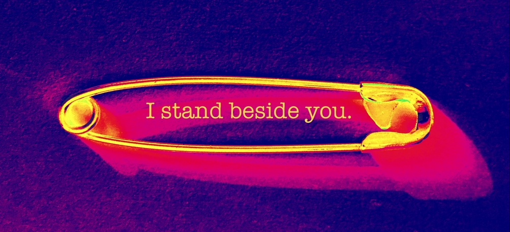 I stand beside you