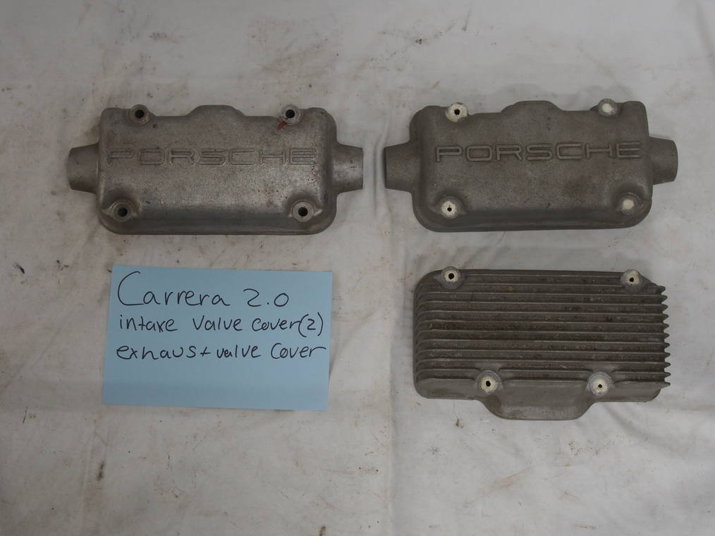 Carrera 2.0 liter 2 intake and 1 exhaust valve cover