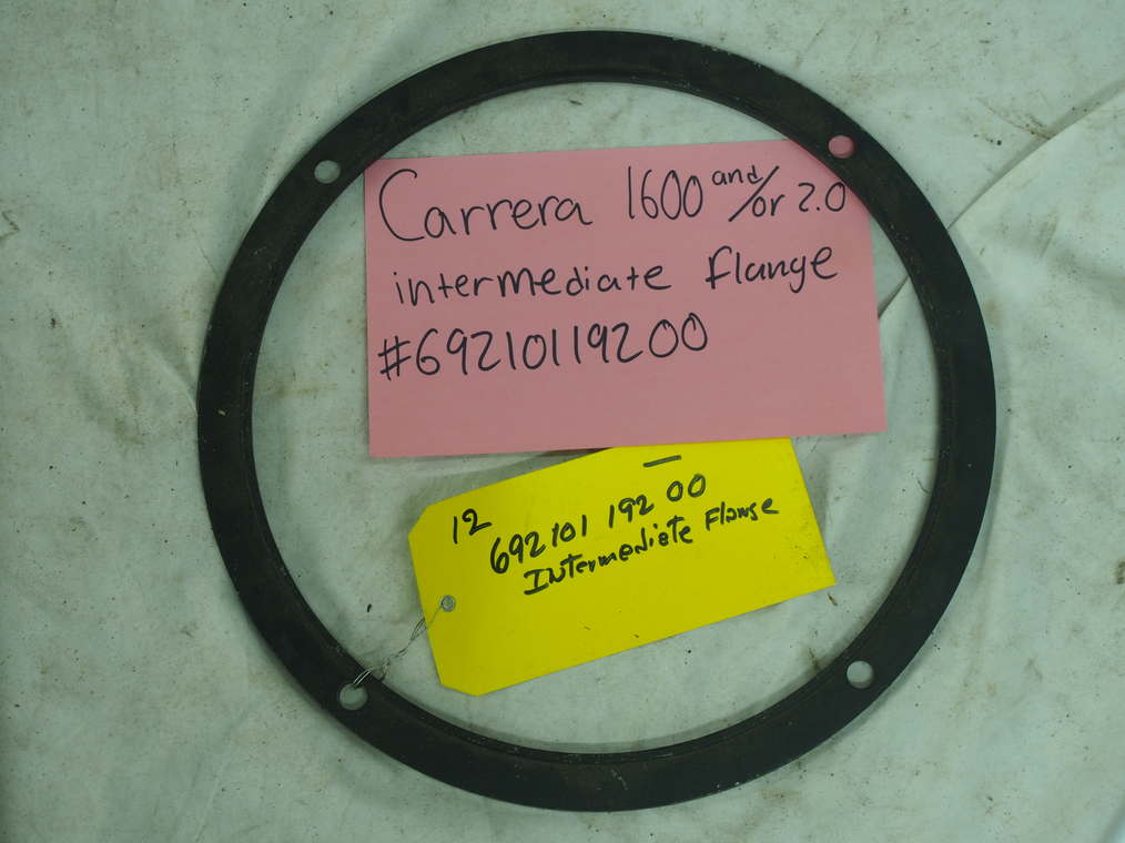 Carrera intermediate flange 1600 or 2.0 #692 101 191 00