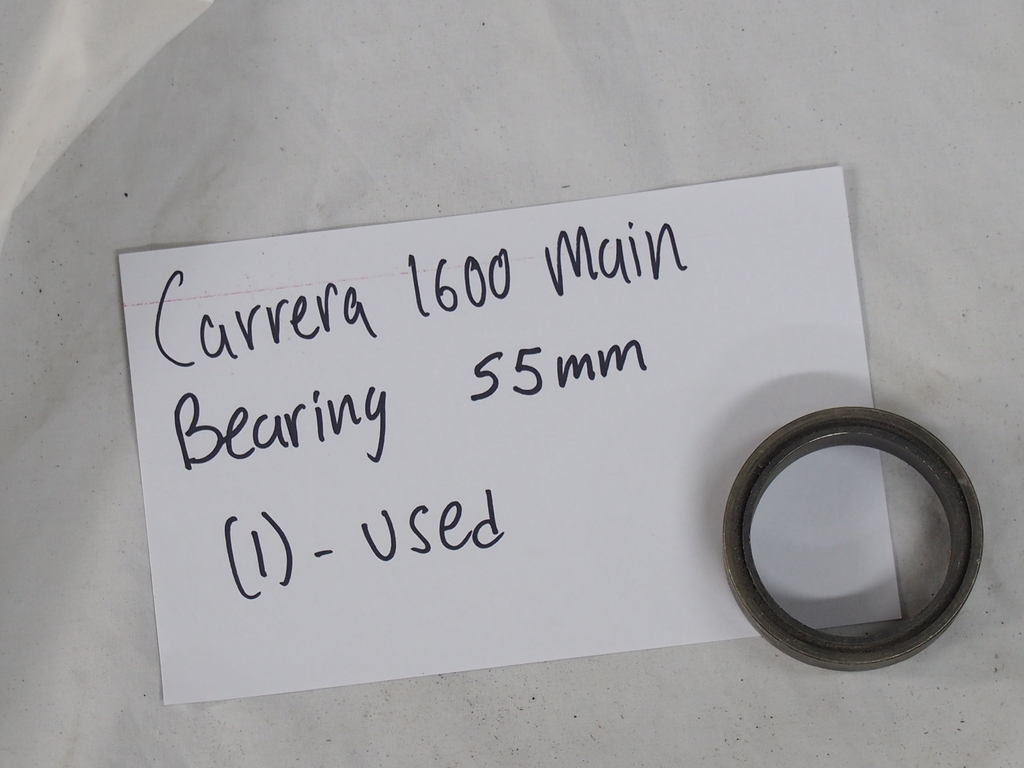 Carrera 1600 main bearing 55MM  (1) - Used