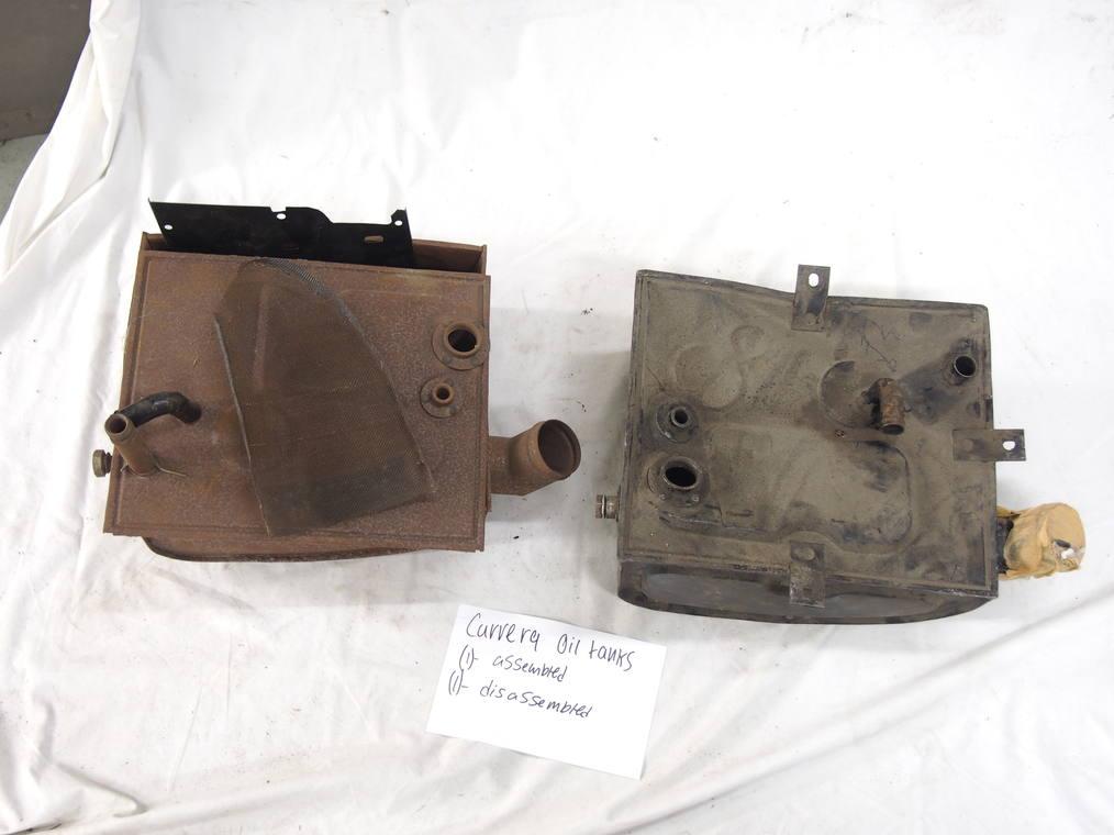 Carrera oil tanks 2.0/1600 (1) Assembled (1) - Disassembled