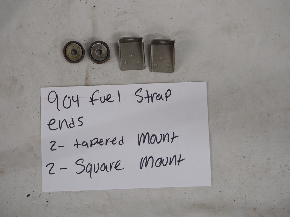 904 fuel strap ends  (2) – tapered mount  (2) – square mounts