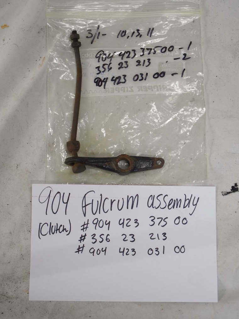 904 fulcrum assembly (Clutch)  #904 423 375 00 #356 23 213 2 #904 423 031 00