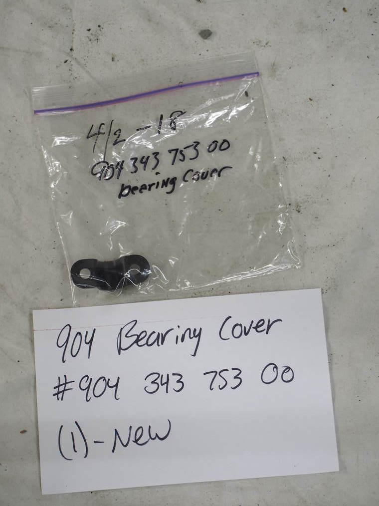 bearing cover #904 343 753 00 (1) – New