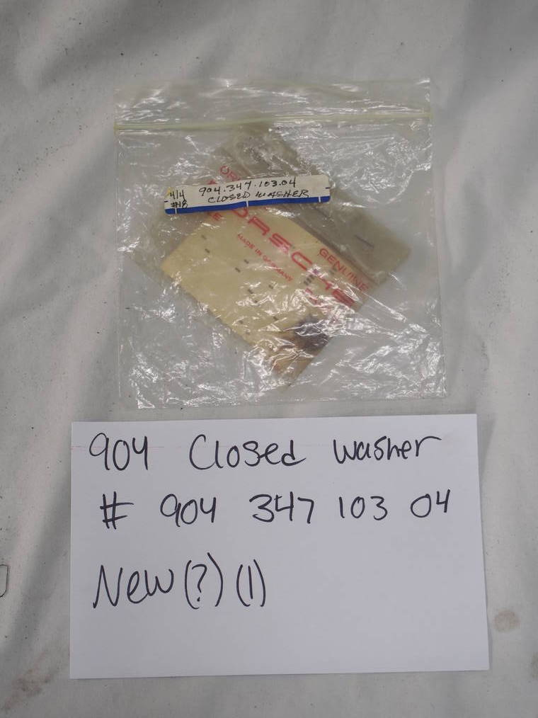 904 closed washer #904 347 103 04  New -(1)