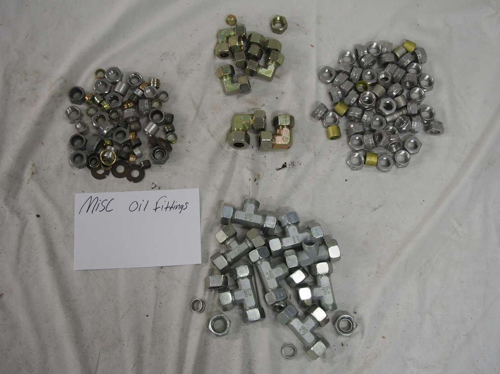 Misc. Oil fittings