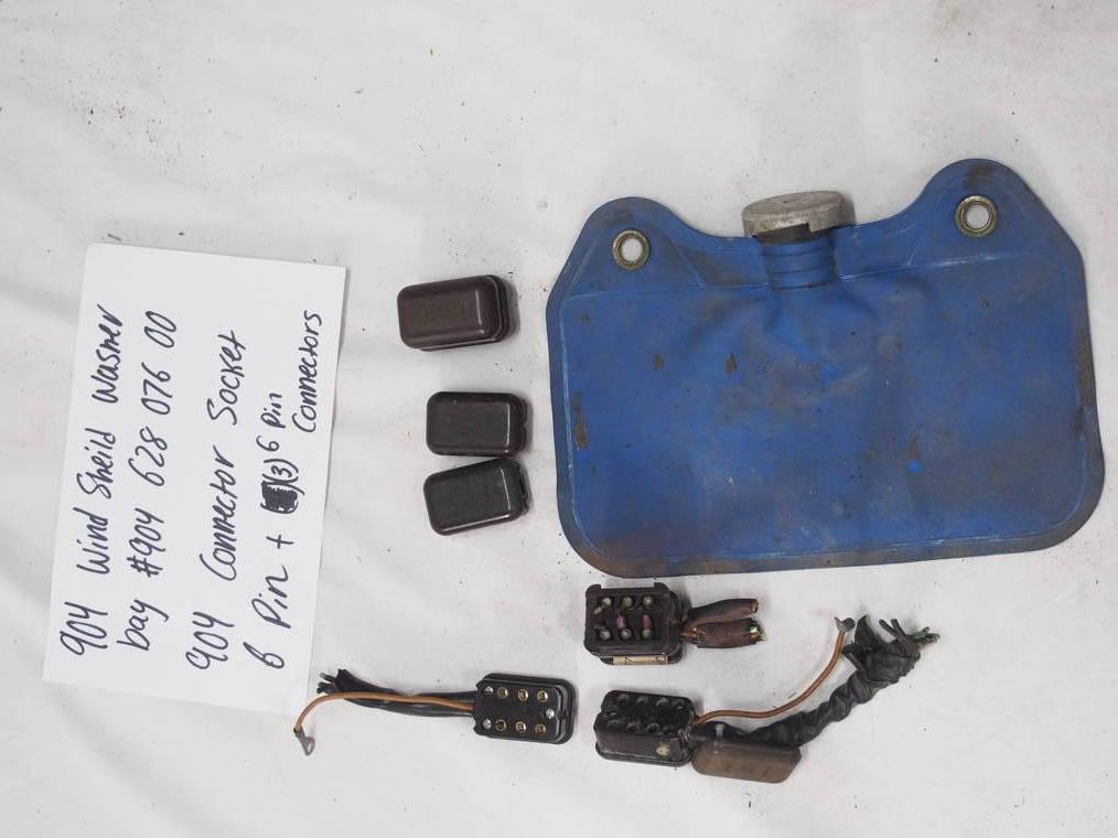 904 wind shield washer bag #904 628 076 00 904 connector Socket 6 Pin (6) pin connectors