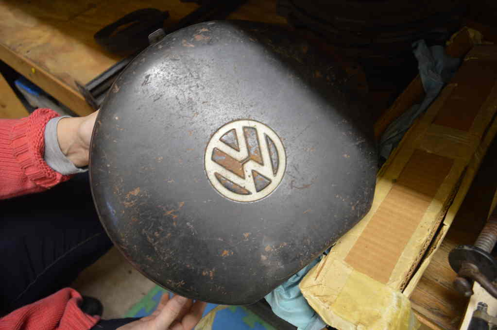 VW tool kit is included - there is only one