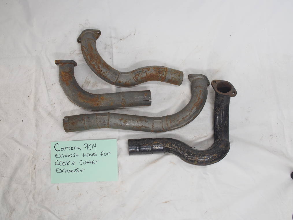 Carrera 904 exhaust tubes for cookie cutter exhaust