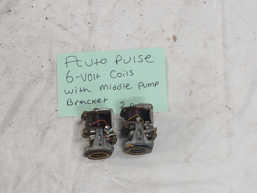 Auto Pulse 6V  Coils  with  middle pump bracket - (2)