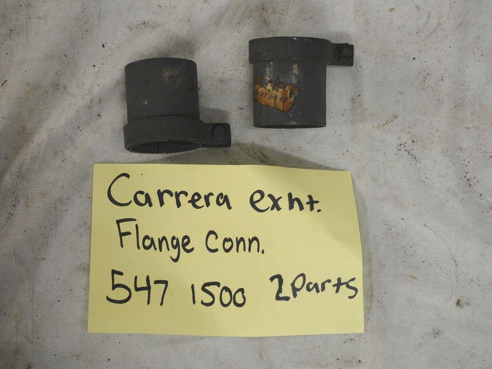 Carrera exhaust flange connector 547 1500 2 parts