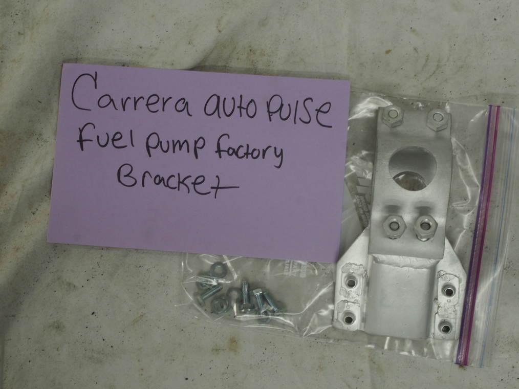 Carrera auto pulse fuel pump factory bracket